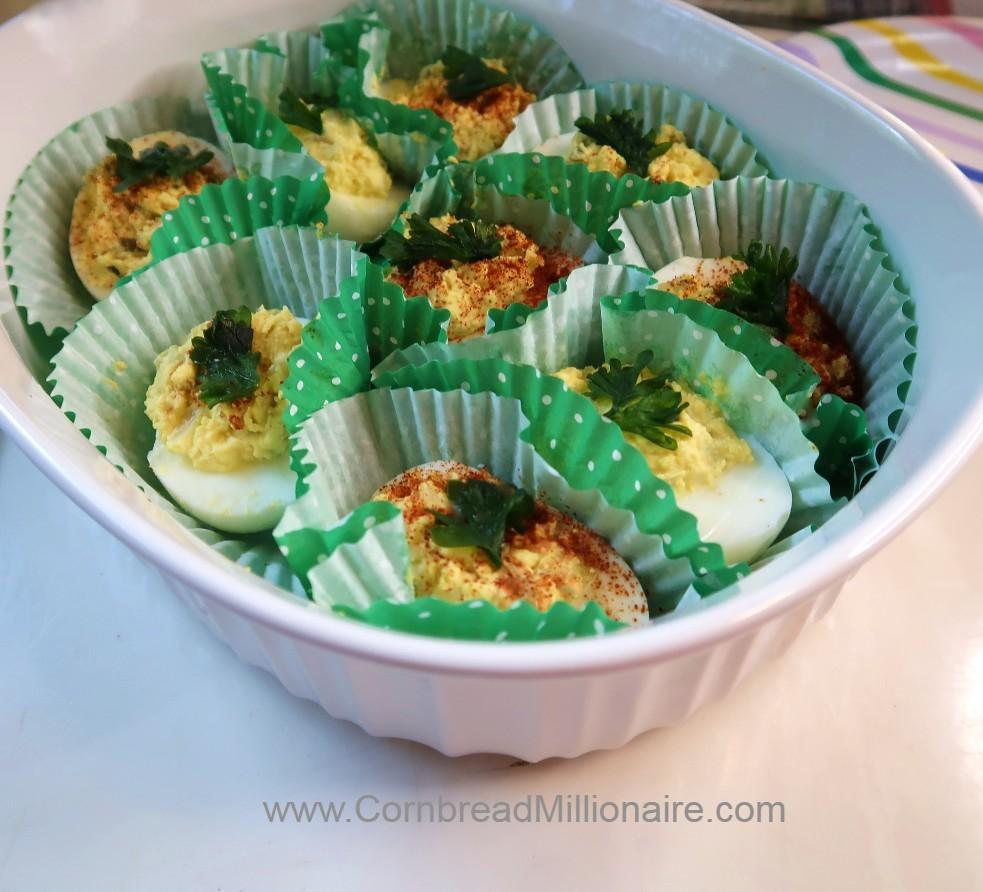 Angel Eggs Casserole Dish