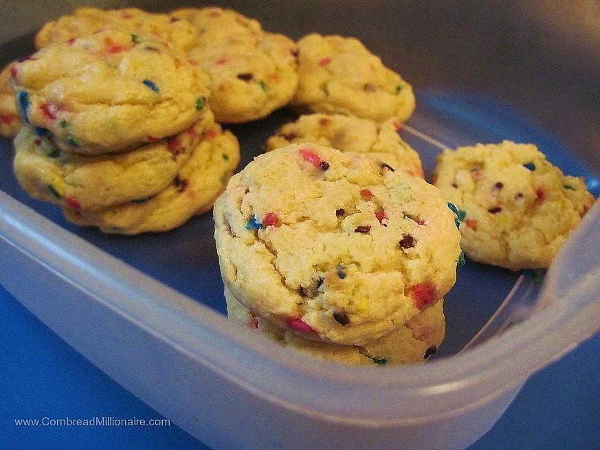Cream Cheese Cake Mix Cookies Updated 300