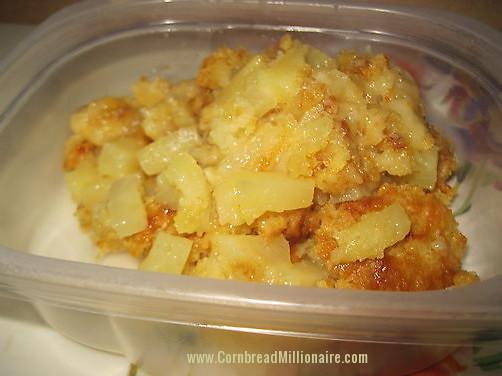 Lemon Pineapple Dump Cake