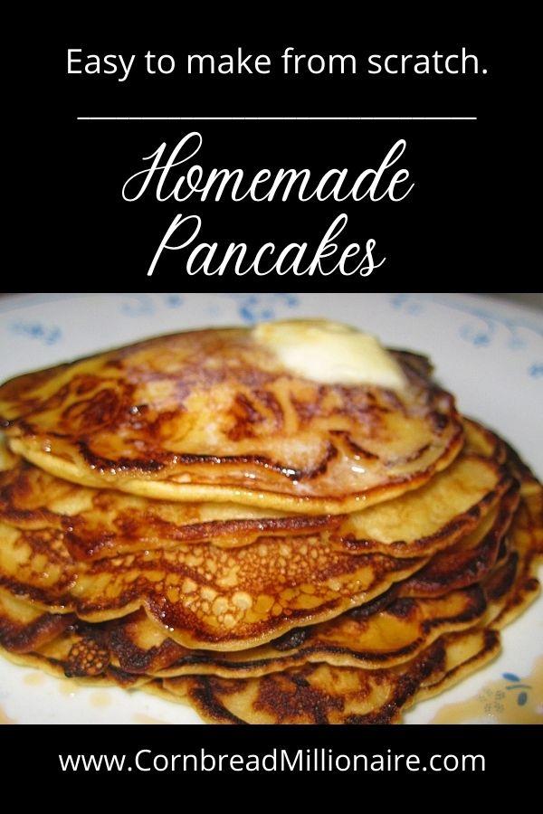 Homemade Pancakes Pinterest