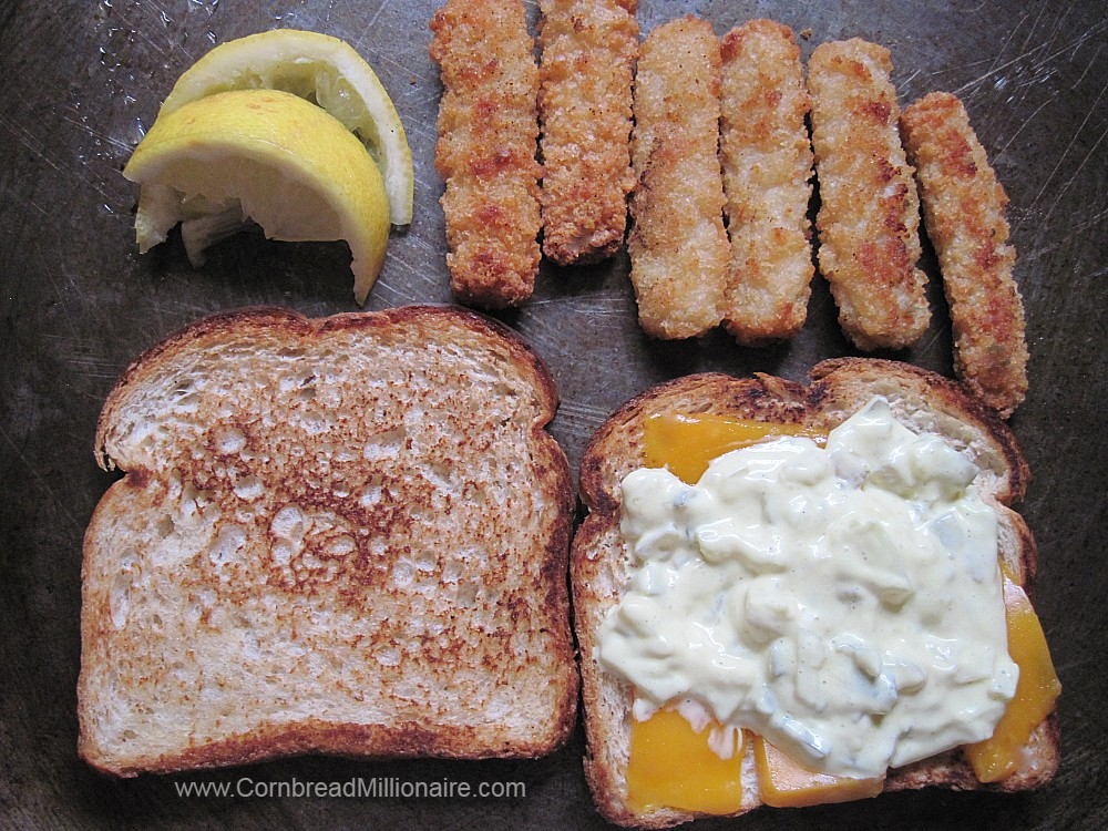 Baked Fish Sandwich