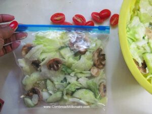 Homemade Salad Mix In A Bag