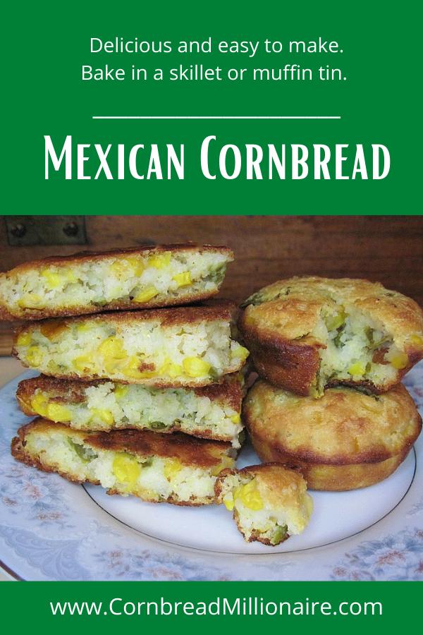 Mexican Cornbread Pinterest