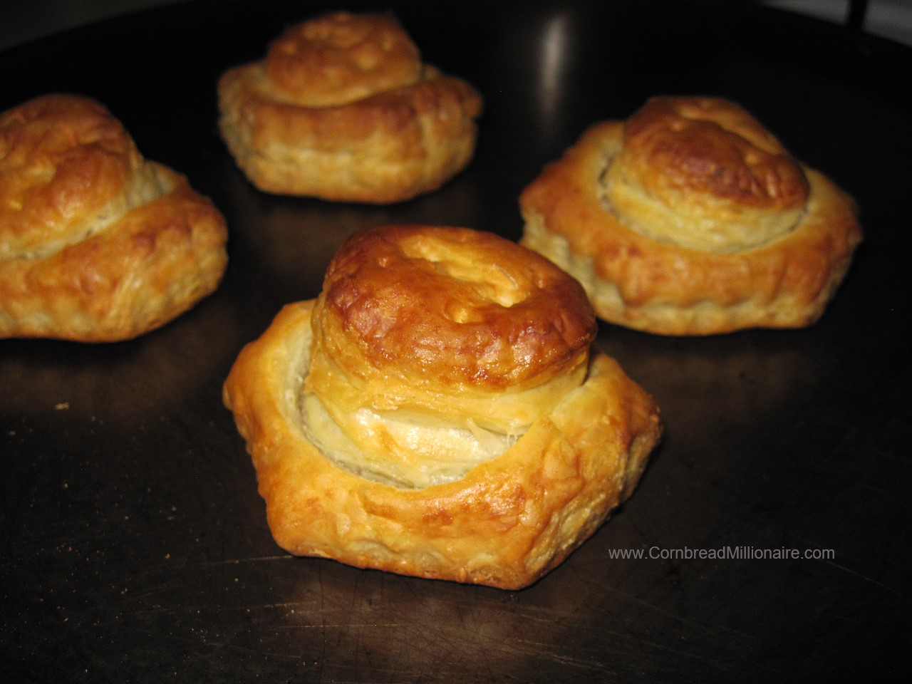 Pastry Puff Shells Baked
