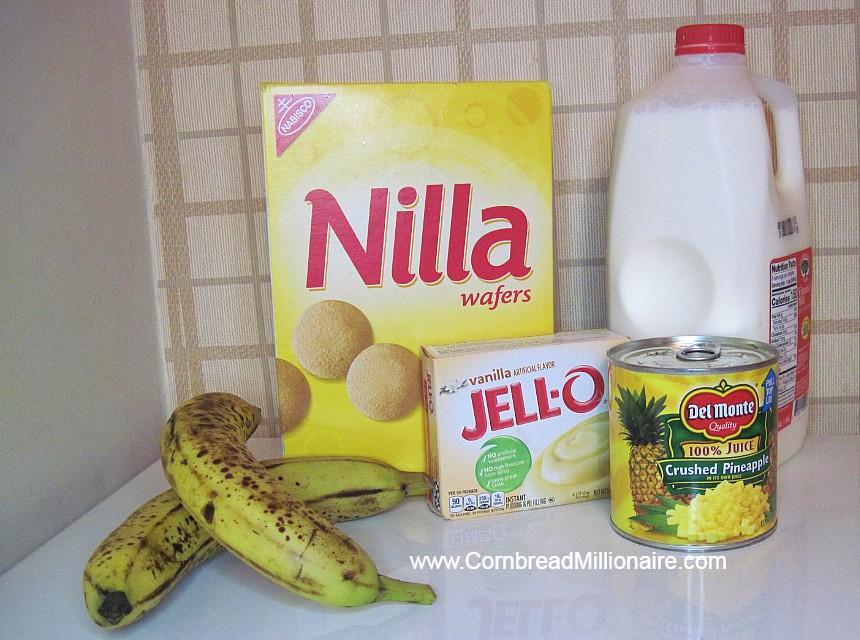 Easy Banana Pineapple Pudding