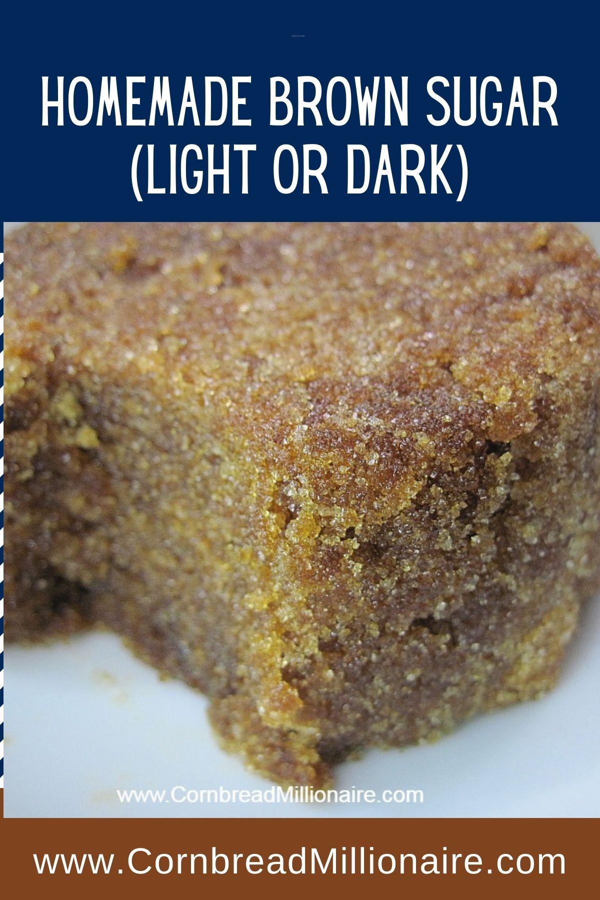 Homemade Brown Sugar (Pinterest)