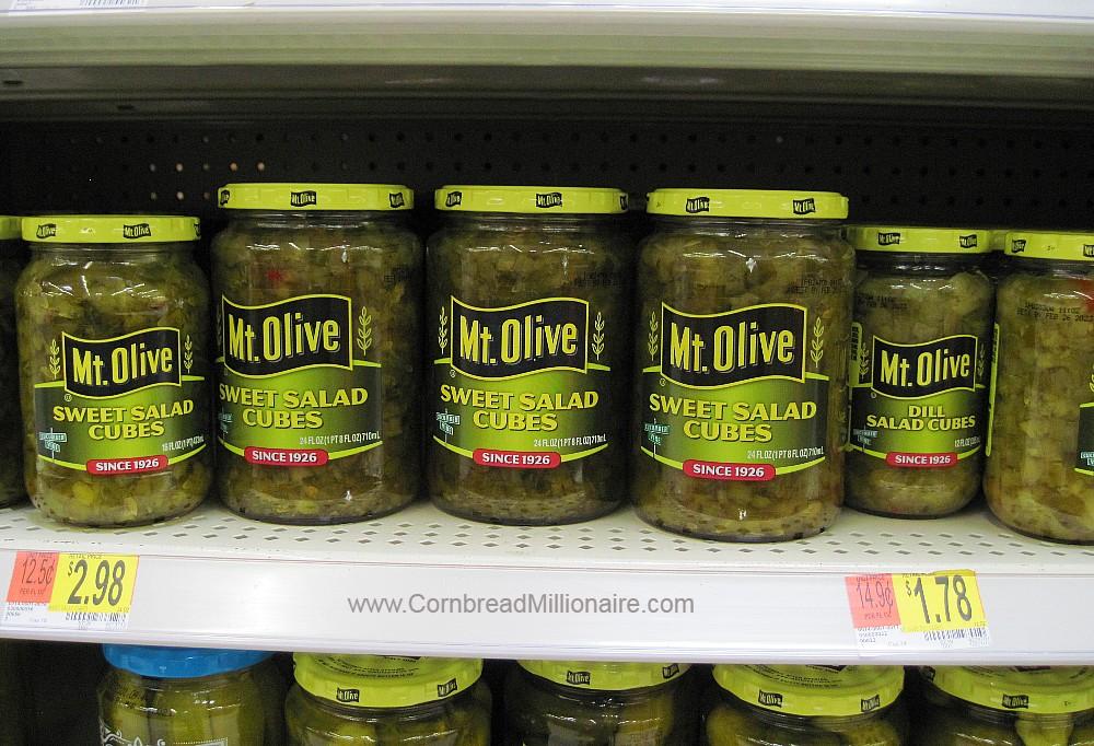 Mt Olive Sweet Salad Cubes