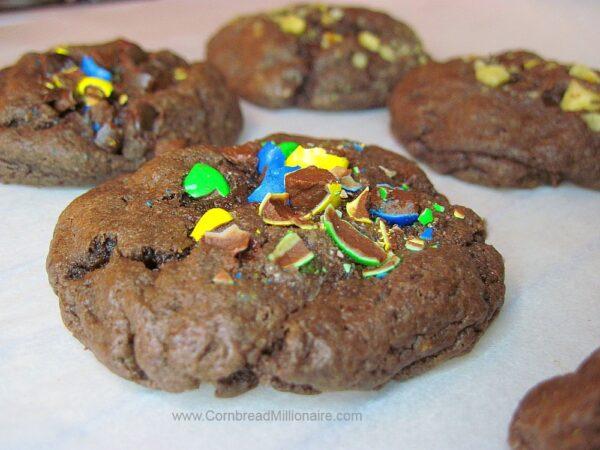 Chocolate Fudge Cake Mix Cookies
