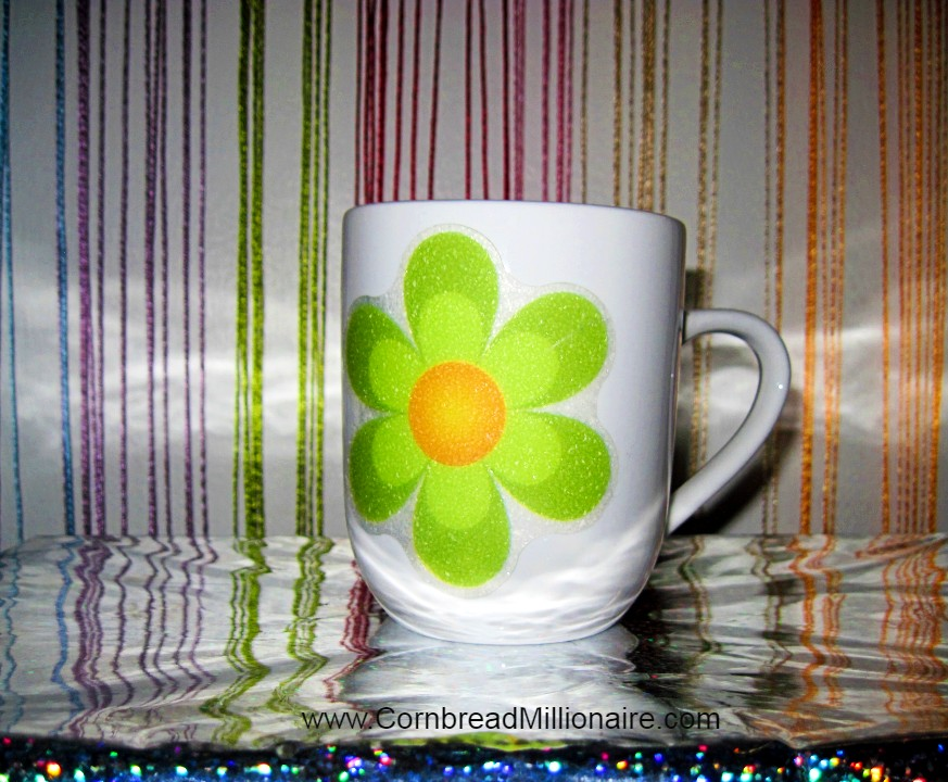 DIY Flower Cups White