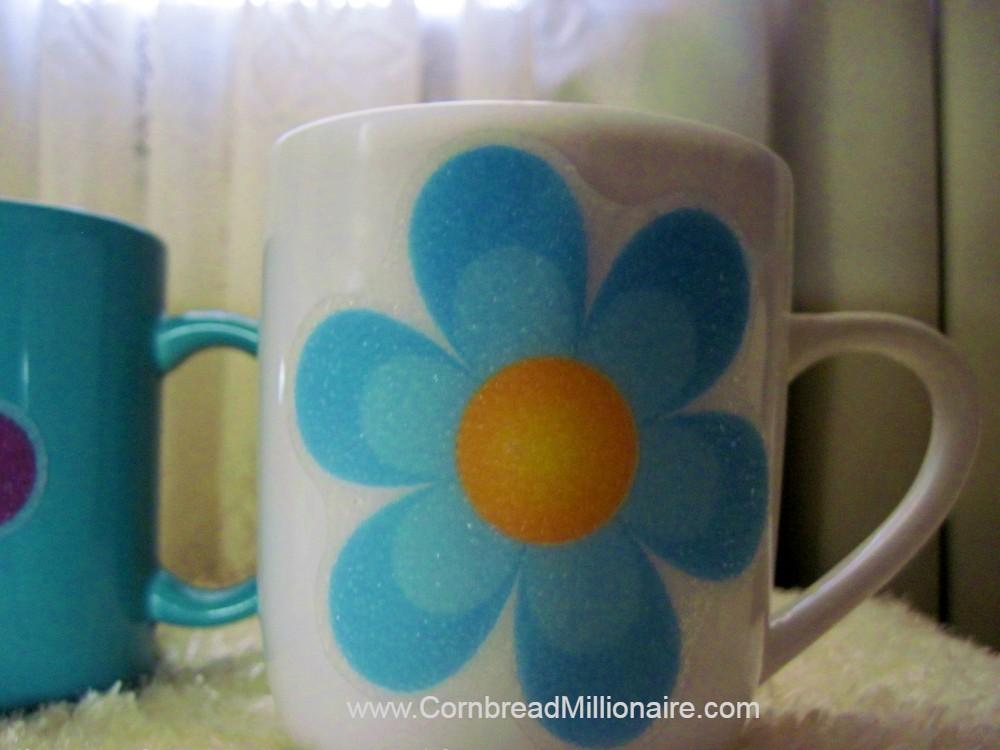 DIY:  Flower Cups