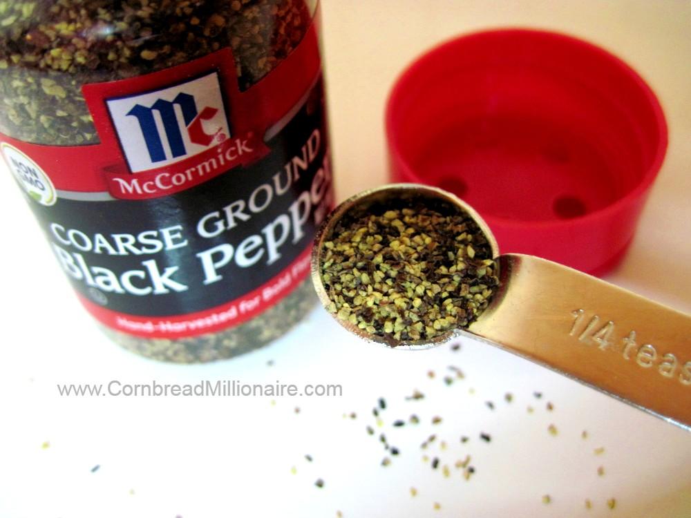 Coarse Ground Black Pepper