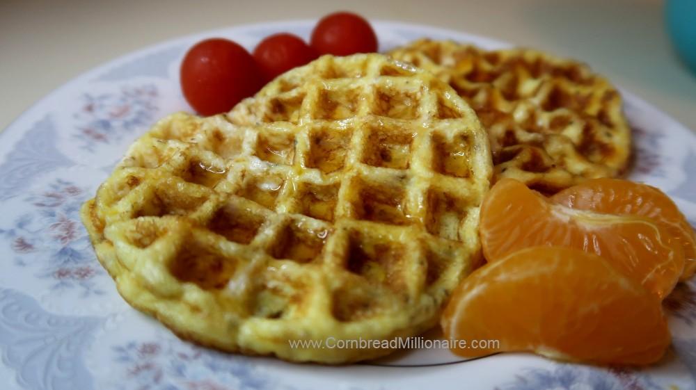 Homemade Egg Waffles