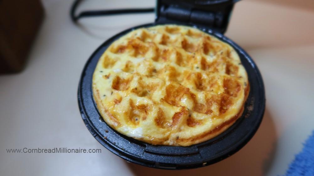 Homemade Mini Egg Waffle